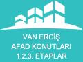 Van Erciş Afad Konutları 1.2.3. Etaplar