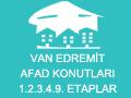 Van Edremit Afad Konutları 1.2.3.4.9. Etaplar