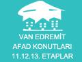 Van Edremit Afad Konutları 11.12.13. Etaplar