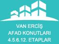 Van Erciş Afad Konutları 4.5.6.12. Etaplar